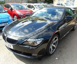 BMW 6 SERIES 3.0 635D SPORT 2DRFULL HISTORY, FULL LEATHER,