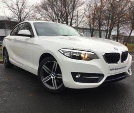 2016 BMW 2 SERIES 218I SPORT
