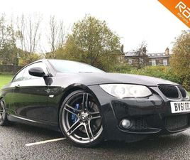 BMW 3 SERIES 3.0 335I M SPORT DCT 2DR+SAT NAV+LEATHER+19ALLOYS+