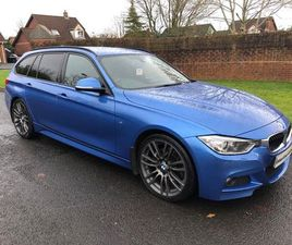 £13,995 BMW 3 SERIES 3.0 330D M SPORT TOURING SPORT AUTO (S/S) 5DR