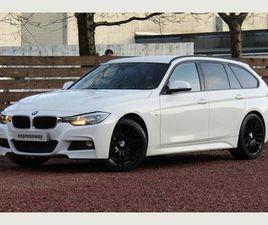 BMW 3 SERIES 2.0 318D M SPORT TOURING (S/S) 5DRSAT NAV*HTD LTHR*E/TILGATE*19