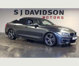 BMW 4 SERIES GRAN COUPE 3.0 430D M SPORT GRAN COUPE 4DRPRO MEDIA, 19