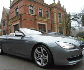 2011 (11) BMW 6 SERIES 3.0 640I SE 2DR AUTOMATIC