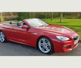 BMW 6 SERIES 3.0 640D M SPORT 2DRHEAD UP DISPLAY VERY GOOD SPEC