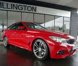 BMW 3 SERIES GRAN TURISMO 2.0 325D M SPORT GT (S/S) 5DRNAV+REV CAM+£6875 EXTRAS