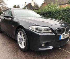 BMW 5 SERIES 3.0 535D M SPORT TOURING 5DRSUNR/F+TAX£160+FBMH+£1111BILLS