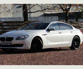 BMW 6 SERIES GRAN COUPE 3.0 640D SE GRAN COUPE 4DREX-LAUNCH CAR*PAN ROOF*BLK PK*