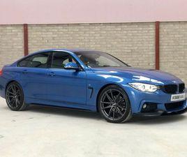 2016 BMW 4 SERIES 2.0 420D M SPORT GRAN COUPE 4D 188 BHP