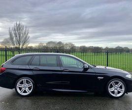2015 BMW 5 SERIES 3.0 535D M SPORT TOURING 5D AUTO 309 BHP