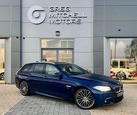 2015 BMW 5 SERIES 535D M SPORT 5DR STEP AUTO