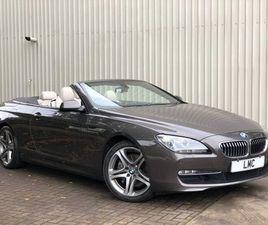 2012 BMW 6 SERIES 3.0 640D SE 2DR AUTO 309 BHP BIG SPEC STUNNER /