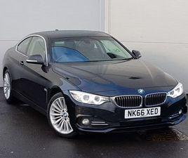 2016 BMW 4 SERIES 420D [190] LUXURY 2DR AUTO [PROFESSIONAL MEDIA]