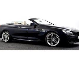 2013 BMW 6 SERIES 3.0 640D M SPORT (S/S) 2DR