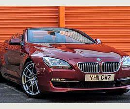 BMW 6 SERIES 4.4 650I SE 2DRBIG SPEC! SUPERB EXAMPLE!