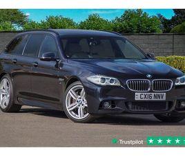 2016 BMW 5 SERIES 3.0 535D M SPORT TOURING 5D AUTO 309 BHP