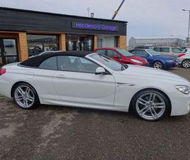 £22,999|BMW 6 SERIES 3.0 640D M SPORT STEPTRONIC 2DR