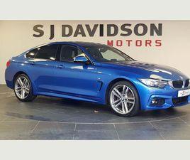 BMW 4 SERIES GRAN COUPE 2.0 420D M SPORT GRAN COUPE AUTO XDRIVE (S/S) 5DRVAT Q ARRIVING SO