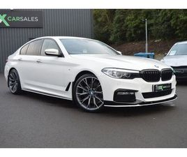 2017 BMW 5 SERIES 2.0 520D M SPORT 4D AUTO 188 BHP
