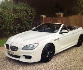 BMW 6 SERIES 3.0 640D M SPORT CONVERTIBLE 2DR DIESEL AUTOMATIC (S/S) (148 G/KM, 313 BHP)64