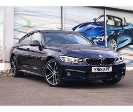 2019 BMW 4 SERIES 420D XDRIVE M SPORT GRAN COUPE AUTO