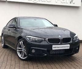 2019 BMW 4 SERIES 420D XDRIVE M SPORT GRAN COUPE