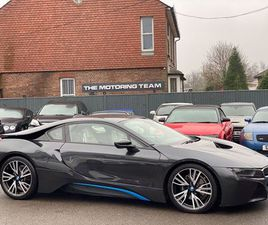 BMW I8 1.5 7.1KWH AUTO 4WD (S/S) 2DRFSH + HIGH SPEC + GREAT MPG