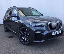 2019 BMW X7 XDRIVE30D M SPORT 5DR STEP AUTO