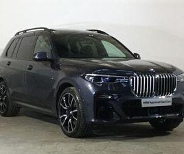 2019 BMW X7 XDRIVE30D M SPORT