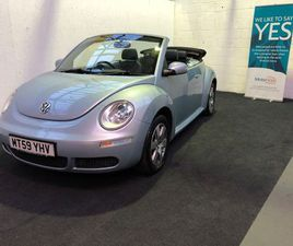 VOLKSWAGEN BEETLE 1.6 LUNA CABRIOLET 2DRLOVELY CLEAN LOW MILES EXAMPLE