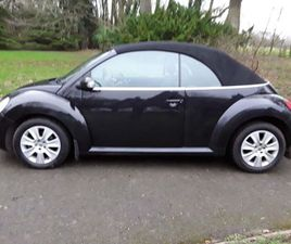 VOLKSWAGEN BEETLE 2.0 CABRIOLET 2DRFULL SERVICE HISTORY ,LEATHER.