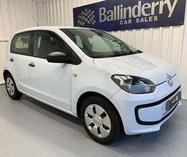 VOLKSWAGEN UP! 1.0 TAKE UP! 5DRLOW INSURANCE-£20 ROAD TAX