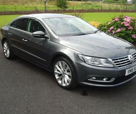 VOLKSWAGEN CC 2.0 TDI BLUEMOTION TECH GT (S/S) 4DRFULL SERVICE HISTORY