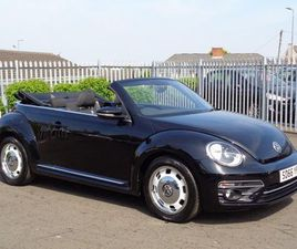 £13,990 | VOLKSWAGEN BEETLE 1.4 TSI BLUEMOTION TECH DESIGN CABRIOLET (S/S) 2DR