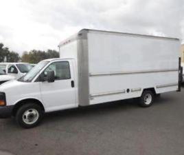 2010 GMC SAVANA 3500 BASE 177 IN. WB 90202 MILES WHITE 14 #39' BOX /LIFT V8, 6.0