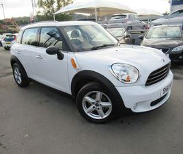 MINI COUNTRYMAN 1.6 ONE (SALT) 5DRTWO OWNERS AND HISTORY