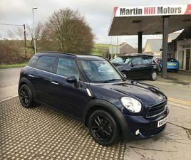 MINI COUNTRYMAN 1.6 COOPER D BUSINESS EDITION (CHILI) 5DRFULL BMW SERVICE HISTORY