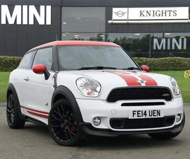 MINI JOHN COOPER WORKS PACEMAN 1.6 3DR