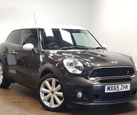 2015 MINI COOPER S PACEMAN PACEMAN 1.6 S ALL4 3DR AUTO [CHILI PACK] COUPE