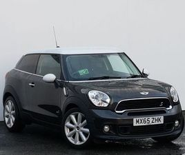 2015 MINI PACEMAN 1.6 COOPER S ALL4 3DR AUTO [SPORT/MEDIA PACK]