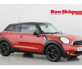 2016 MINI PACEMAN 1.6 COOPER 3D AUTO 122 BHP WITH PEPPER PACK + MEDIA PACK