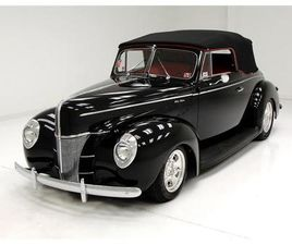 FOR SALE: 1940 FORD DELUXE IN MORGANTOWN, PENNSYLVANIA