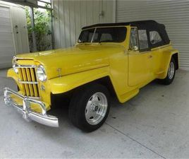 FOR SALE: 1948 WILLYS OVERLAND JEEPSTER IN CADILLAC, MICHIGAN