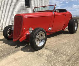FOR SALE: 1934 FORD ROADSTER IN BEDFORD HTS., OHIO