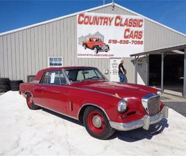 FOR SALE: 1962 STUDEBAKER GRAN TURISMO IN STAUNTON, ILLINOIS