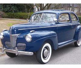 FOR SALE: 1941 FORD DELUXE IN RALEIGH, NORTH CAROLINA