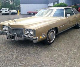 FOR SALE: 1972 CADILLAC ELDORADO IN STRATFORD, NEW JERSEY