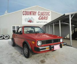 1985 VOLKSWAGEN RABBIT FOR SALE