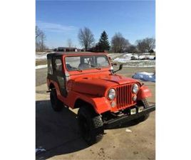 FOR SALE: 1963 JEEP WILLYS IN CADILLAC, MICHIGAN