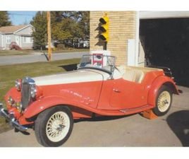 FOR SALE: 1952 MG TD IN CADILLAC, MICHIGAN
