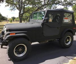 FOR SALE: 1979 JEEP CJ7 IN BOERNE, TEXAS